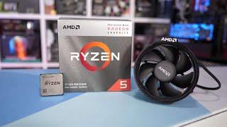 AMD RYZEN 5 3400G BASED GAMING PC BUILD