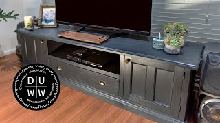 Upcycling/remodelling old furniture - How to. #1-TV unit