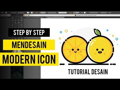 Tutorial Membuat Logo Sederhana #4 Dengan Adobe Illustrator.