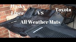 Husky Liner VS OEM Toyota All Weather Floor Liners:Tacoma 3rd Gen
