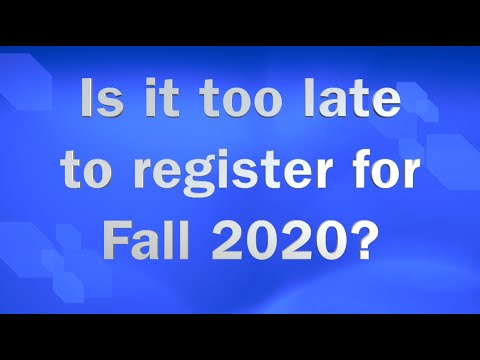 Columbus Technical College Fall 2020 registration