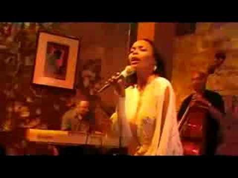 Maria Howell sings