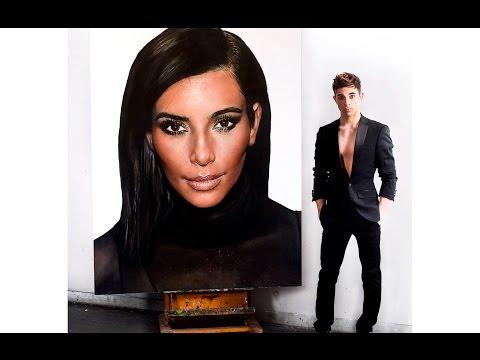This Kim Kardashian Painting Is Unbelievable