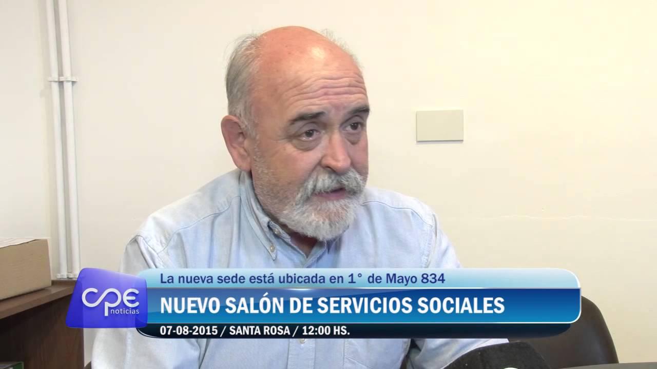 CPE: Nuevo Salón de Servicios Sociales - YouTube