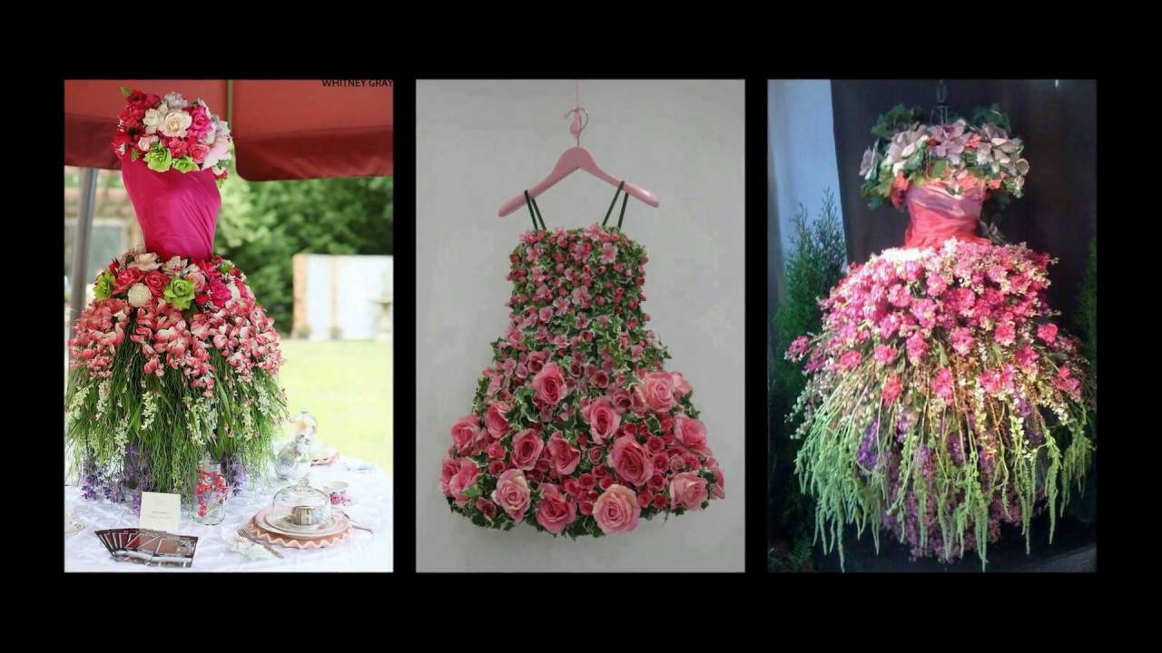 Floral Tree Dress Inspiration Mannequin Ideas