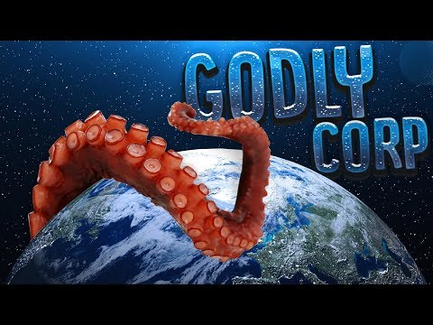 Man Becomes The Greatest God Intern - Cthulhu Saves The Universe! - Godly Corp Gameplay