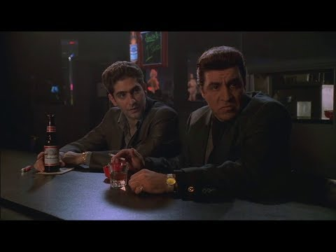 Silvio And Christopher Talk About The Club - The Sopranos HD