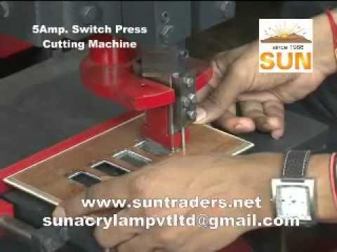 Switch Press Cutting For Bakelite & PVC by Sun Acrylam Pvt.Ltd, Ahmedabad