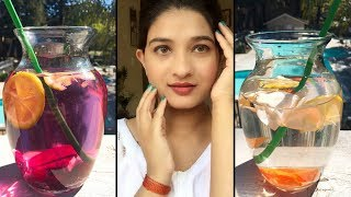 Detox water to get clean, clear & glowing skin in Hindi   Detox weight loss drinks   AVNI