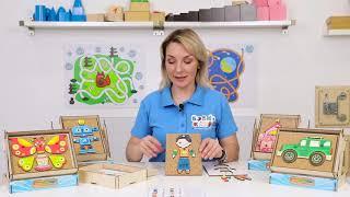 Методичні рекомендації до іграшці ''Веселі гвоздики'' WoodlandToys