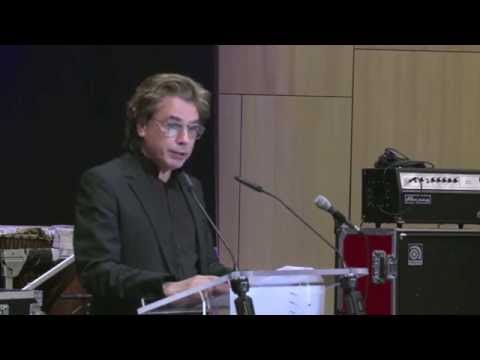 Jean Michel Jarre - President of CISAC -  WIPO Inaugurates New Conference Hall 2014
