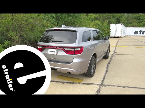 Etrailer | Trailer Wiring Harness Installation - 2018 Dodge Durango