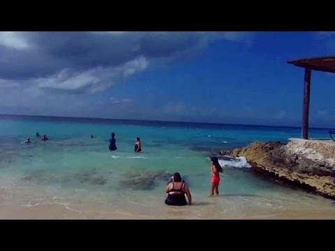 Playa Azul (Blue Beach) on Cozumel Island, Mexico