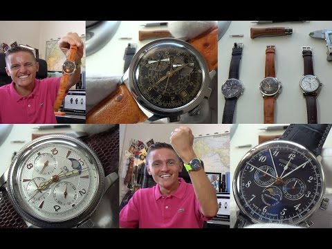 Best Moon Phase Watches Under $1000 - My Next Sinn - The Tissot Returns! +Oris & Zeppelin Reviews