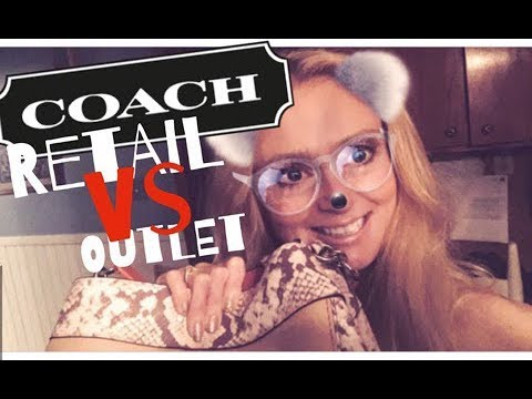The Truth About Coach | Retail VS Outlet