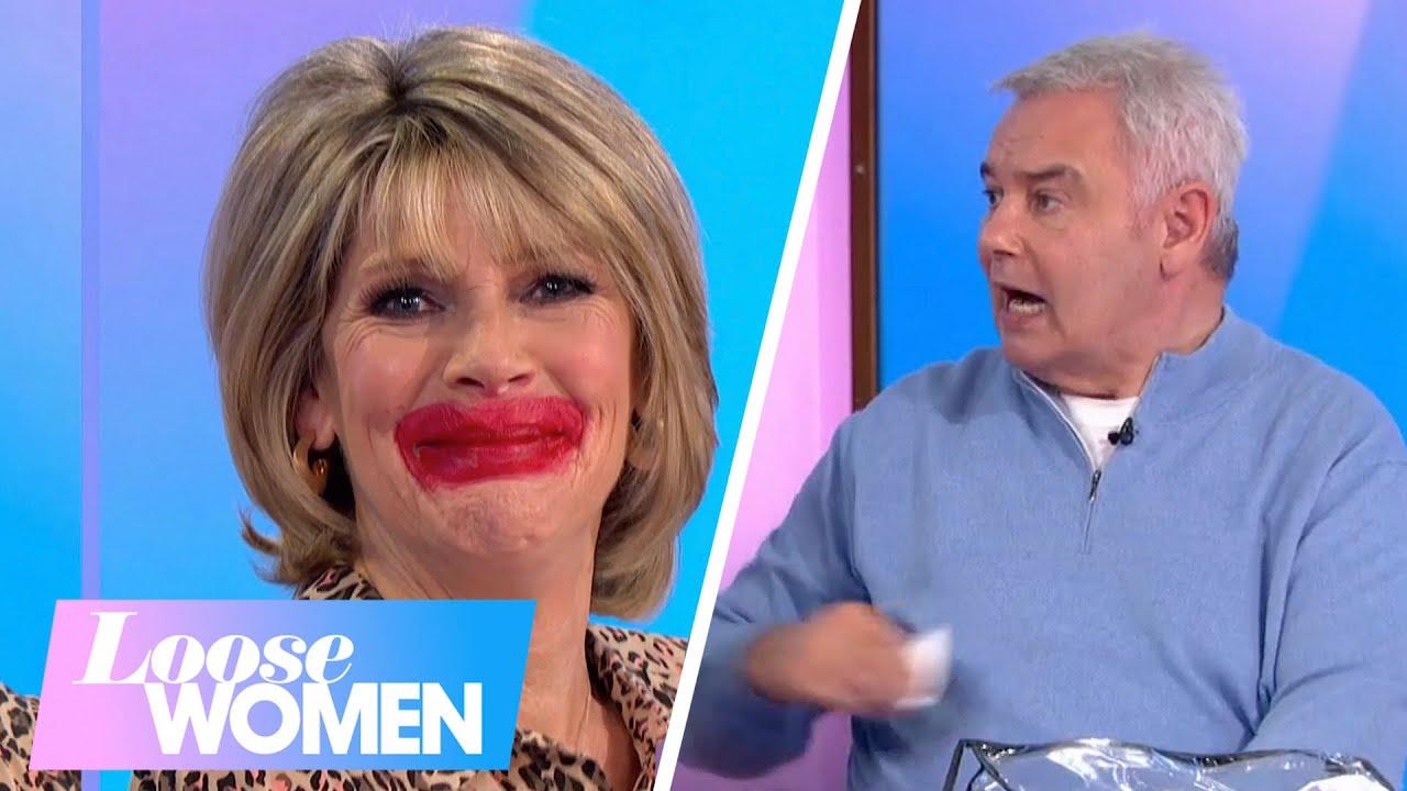 Ruth Lets Eamonn Do Her Makeup | Loose Women