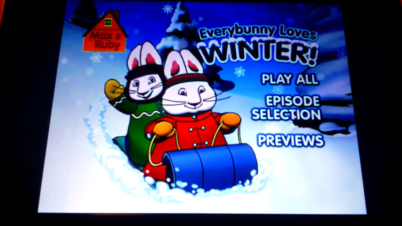 max ruby everybunny loves winter youtube. Black Bedroom Furniture Sets. Home Design Ideas