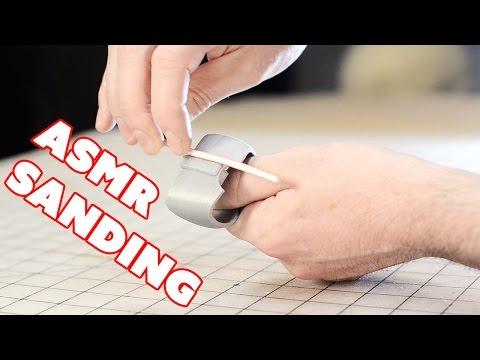 ASMR Sanding a 3D Print