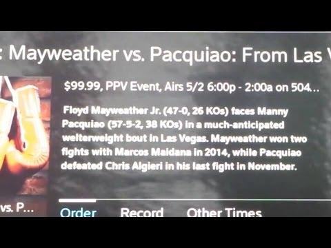 TSTREET ORDERS MAYWEATHER VS PACQUIAO $99.99 HD XFINITY 4/23/15 WITH MARKY MARK & THE FUNKY BUNCH!