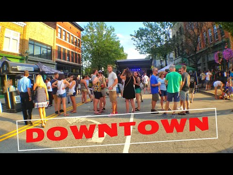 Walking Around Downtown Greensboro North Carolina