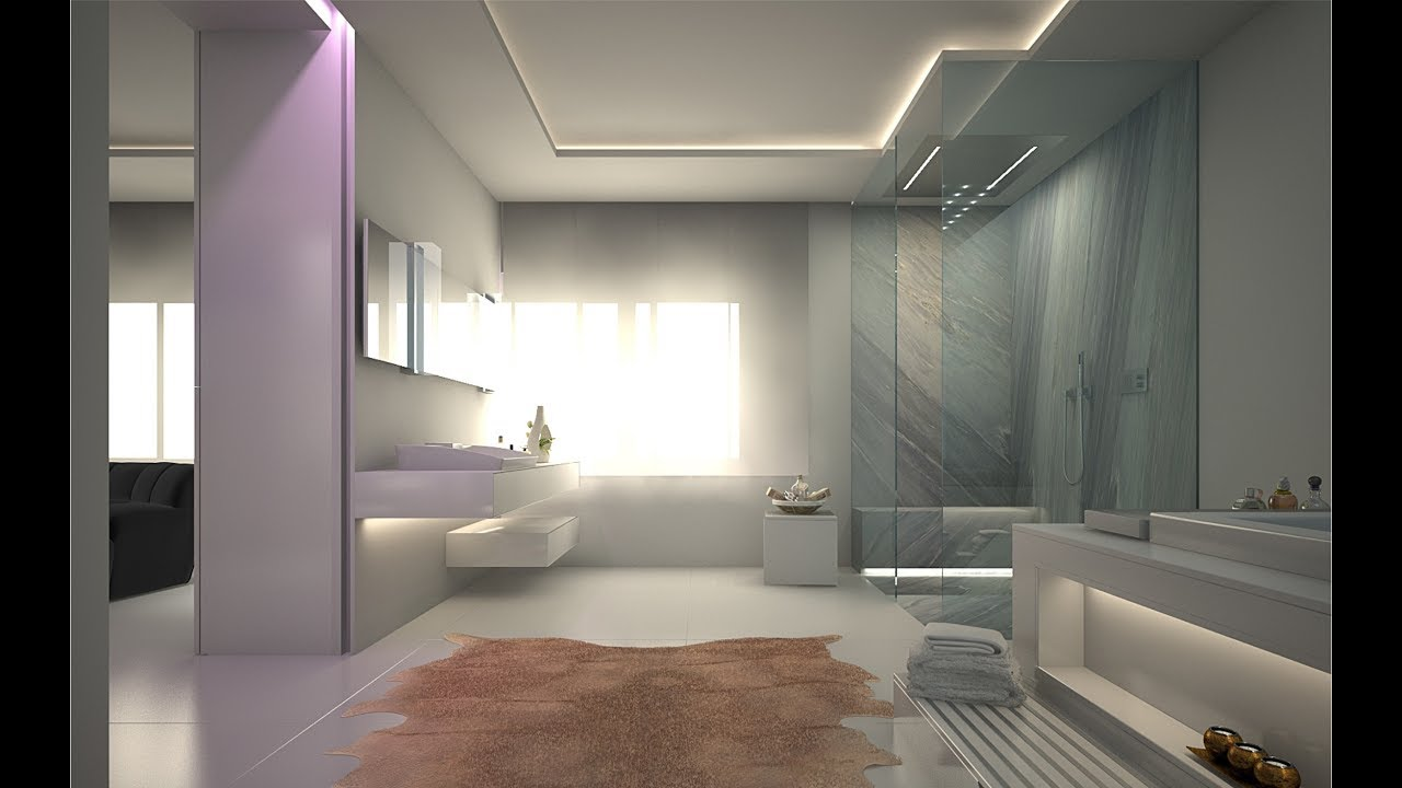 Luxus architektur interior bad spa konzept design for Bad designer