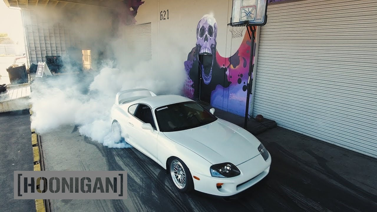 [HOONIGAN] DT 001: 750HP Supra Burnouts and Roll Bar Boardslides