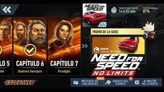 Need For Speed No Limits Android Dodge Challenger SRT Demon Chapter 7 Prodigio 1-7