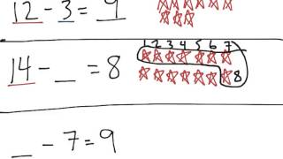 [1.OA.8-2.0] Solve for Unknowns - Common Core Standard