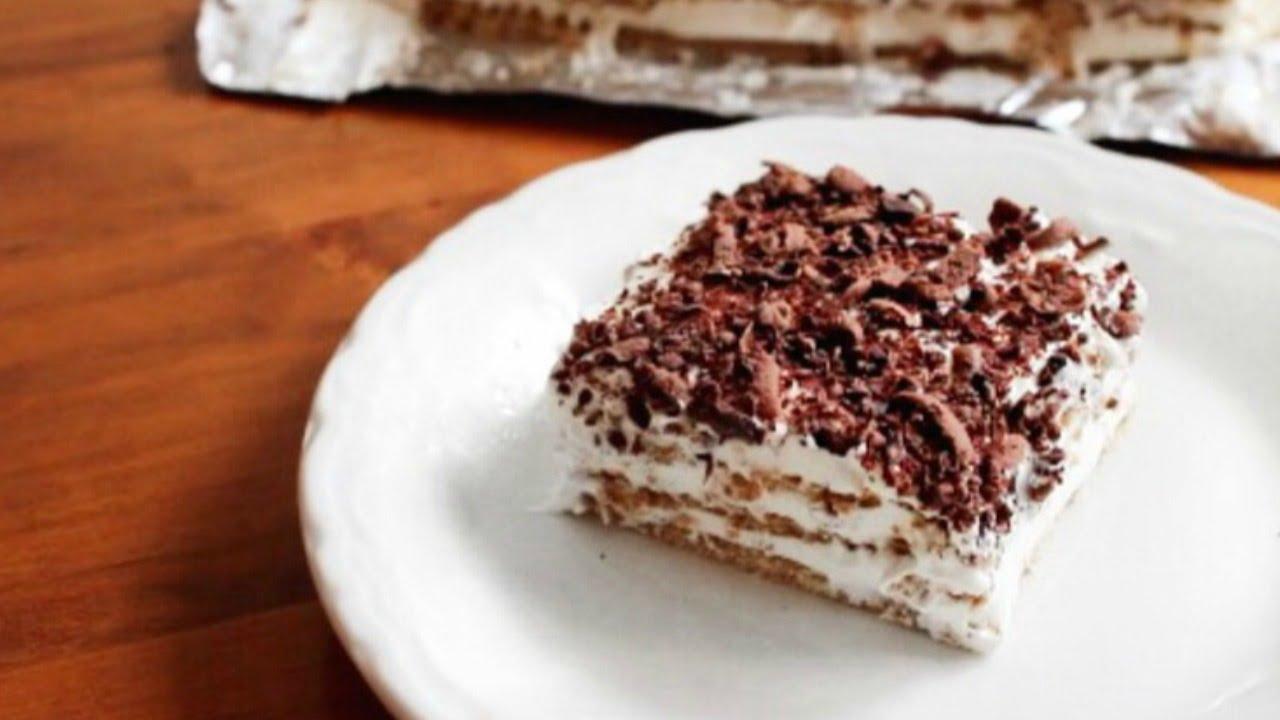 How To Make Eclair Cake Youtube