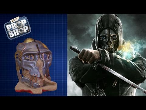 Corvo Mask - Dishonored - DIY PROP SHOP