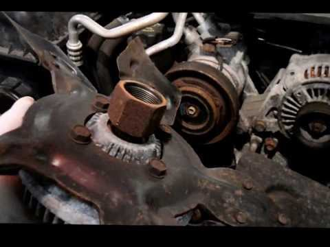 Removing The Fan Clutch On A  2004 Dodge Or Chrysler Without The SpecialTools