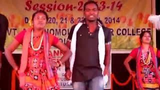 Government Autonomous College Rourkela Spring fest 2014 sambalpuri dance