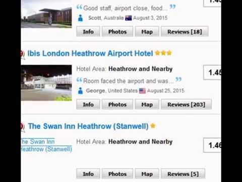 Cheap Hotels Near Heathrow Airport, Cheap Hotels In London Near Heathrow