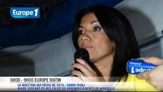 Marseille : Pour Samia Ghali, Gaudin