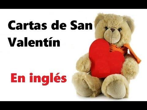 Cartas de san valentin en ingles youtube - Cartas de san valentin en ingles ...