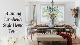 Download Stunning Farmhouse Fall Style Home Tour