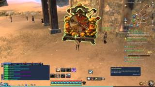 Blade and Soul: Rolling 75 Pinchy Essences - Scorching Sand wheel of fate