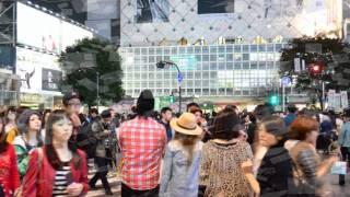 渋谷で、Nikon D5100 撮影をし、BGMをつけてムービーの編集しました。 曲は、ぱすぽ☆の夢パスポートです。
