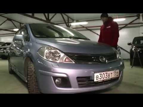 Nissan Tiida 2012 год 1.6 л. от РДМ Импорт