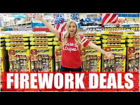 Firework Shopping! Best 4th of July Fireworks for Less Money = Independence Day Deals