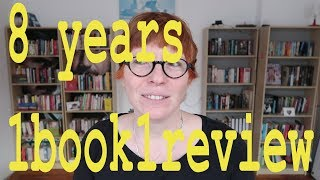 Channel anniversary: 8 years 1book1review