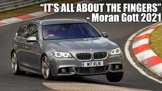 "Ultimate Car Control! Moran ""Fast Fingers"" Gott Doing the Wet Nordschleife"