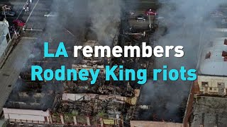 Los Angeles remembers Rodney King riots in 1992