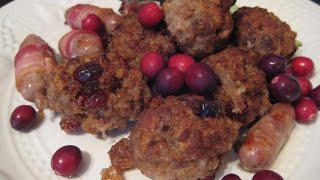 How To Make Chestnut, Port, Cranberry And Bacon Stuffing
