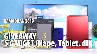 GIVEAWAY RAMADHAN 2019 #8: 5 GADGET (Hape, Tablet dll)