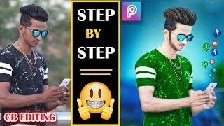 CB Editing Step by Step || How to edit cb editing in picsart in hindi || Picsart cb editing