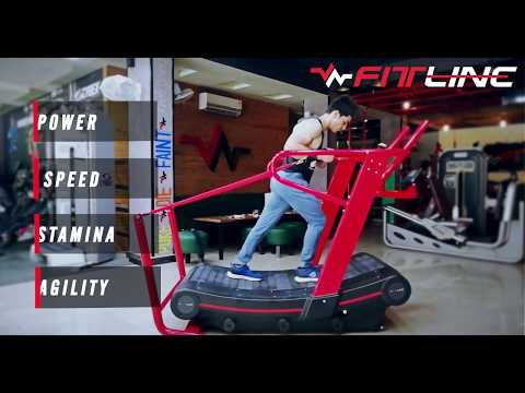 Curve treadmill by Fitline