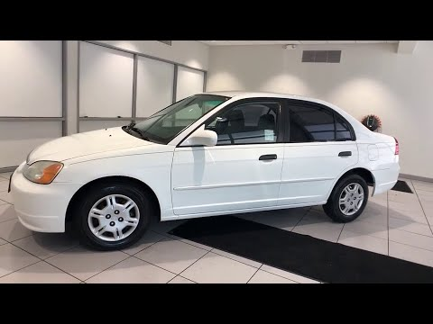 2001 Honda Civic Redding, Eureka, Red Bluff, Chico, Sacramento, CA 1H606335