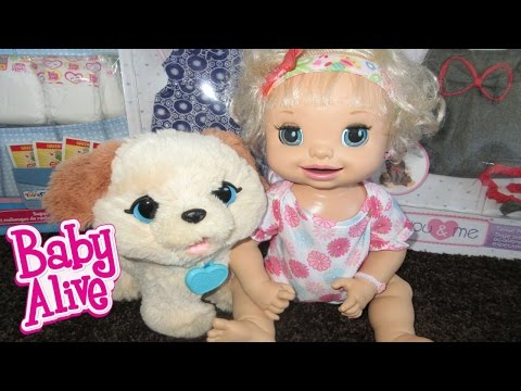 BABY ALIVE Haul At Toys R Us + Ruby Snow's Gets A Puppy!