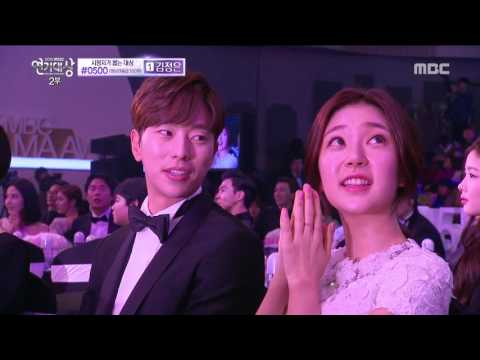 [2015 MBC  Drama Acting Awards] musical 'Rebecca' team the opening stage 20151230